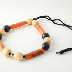 Assorted Colors Bamboo Necklace
